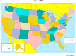 United States Map Outline by Usa State Abbreviations Map Usa Map With State Abbreviations In