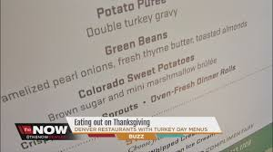 out on thanksgiving denver restaurants with turkey day