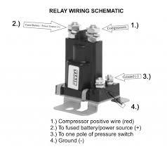 viair 93980 80 12 v heavy duty relay for air ride suspension