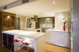 interior stylish scandinavian kitchen design with nice pendant