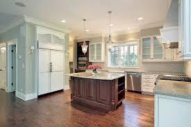 granite island kitchen kitchen with granite island stock photo image of kitchen lighting