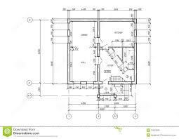 architectural plan cad architectural plan blueprint stock photos image 15913593