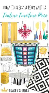 how to design u0026 decorate a room with a feature furniture piece