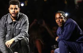 the weeknd brought out kendrick lamar for his l a performance