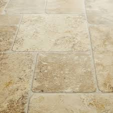 Kitchen Floor Coverings Ideas by Atlas 934 Babylon Beige Stone Effect Vinyl Flooring Vinyl