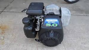 Honda Engines Specs Honda Gc160 5 0 Hp 160cc Engine Cold Start Youtube