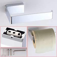 Toilet Roll Holder Wall Mounted Toilet Roll Holder Chrome Finish U2013 Comxuk