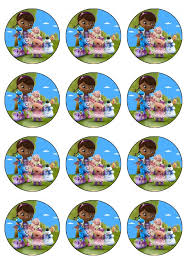 doc mcstuffin cake toppers doc mcstuffins dessert toppers