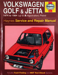 haynes manual mk1 golf jetta petrol models u002774 84 0001001011