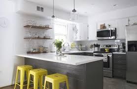 grey white yellow kitchen yellow grey kitchen pinterest homes alternative 46669
