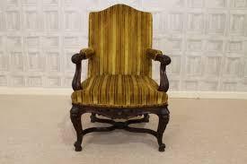 Victorian Armchair Victorian Armchair In Carved Walnut Armchair Fireside Chair Antique