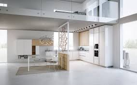 monochrome interior theme design white cabinets white refrigerator
