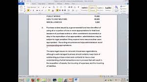 gov u0027t u0026 not for profit accounting hw solutions youtube