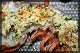 cuisiner homard surgelé p homard au four au beurre persillé et citronné un p tour