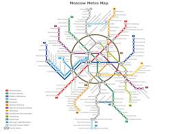 Moscow Metro Map by Moscow Metro Map Created By Www Conceptdraw Com Infographics