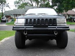 jeep xj stock bumper let u0027s see those homemade bumpers jeepforum com