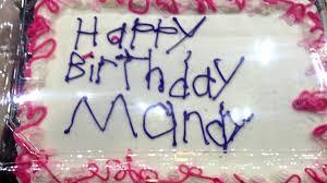 story birthday cake heartwarming story meijer bought birthday cake melts