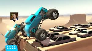 monster truck racing game mmx hill climb disert stage 1 completed with monster truck