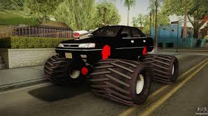 1992 subaru legacy subaru legacy 1992 monster truck for gta san andreas