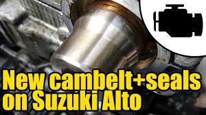 1113 cambelt u0026 seal replacement on 1996 suzuki alto f6a engine