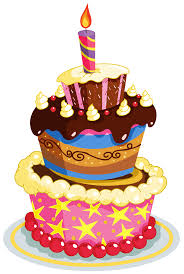 colorful birthday cake clipart happy birthday u2013 gclipart com
