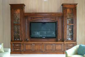 Living Room Entertainment Center Large And Tall Brown Wooden Entertainment Center With Glas Doors
