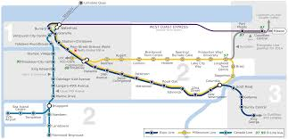 Metro Expo Line Map by Skytrain Vancouver Metro Map Canada