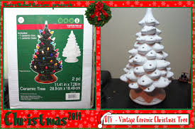 diy u2013 vintage ceramic christmas tree
