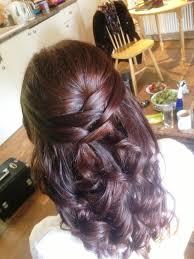photo wedding hairstyles for medium hair half up half down half