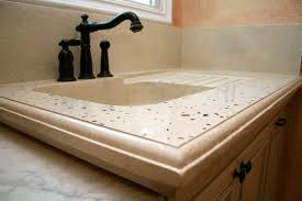 bathroom remodel concrete sink sarasota custom concrete design