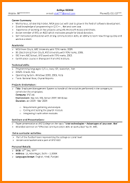 usa resume 8 fresher resume usa letter of apeal