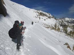 avalanche danger pacific crest trail association