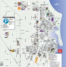 parking map transportation parking northwestern