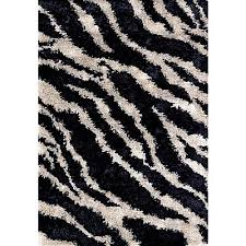 Black And White Stripped Rug Modern Luxury Carpets Made In Italy