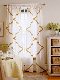 Curtain Patterns To Sew No Sew Curtains Diy Curtain Ideas That Are Quick And Easy To Do
