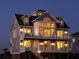 Beach Houses In Topsail Island Nc by Home North Topsail Oceanfront Rentals Flip Flop Inn U0026 Pearl By