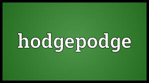 hodgepodge meaning youtube
