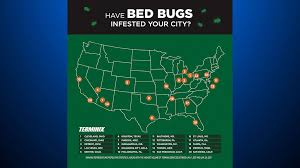 Bed Bugs In Ohio Survey Pittsburgh One Of The Most Bed Bug Infested Cities In The