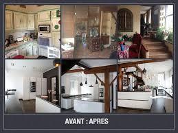 cuisine avant apr鑚 avant après modernisation d une cuisine séjour style