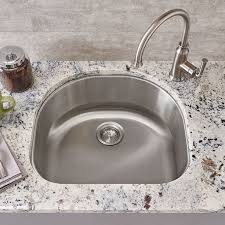 portsmouth undermount 23x21 single bowl kitchen sink american