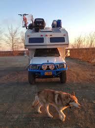 toyota motorhome 4x4 living in a van down by the river winter rv living in alaska
