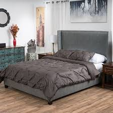 Leather Upholstered Bed Leather Beds Shop The Best Deals For Dec 2017 Overstock Com