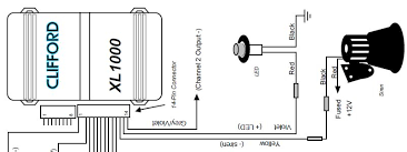 car alarm wiring diagram u0026 clifford car alarm wiring diagram