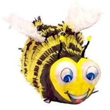 bumblebee pinata bees birthday party theme