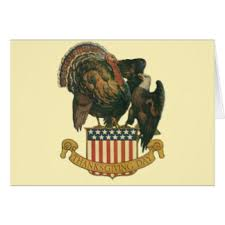 patriotic thanksgiving greeting cards zazzle