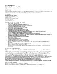 Laboratory Skills Resume Lab Tech Resume 1