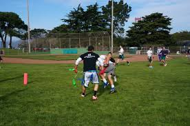 Coed Flag Football League Play In The Bay Sport And Social Club