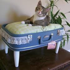 dog beds made out of end tables 40 creative ways of re using old suitcases