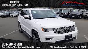 jeep grand cherokee 2017 grey new 2017 jeep grand cherokee overland sport utility in pearl city