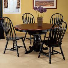 black and wood dining table 09 dining room design using yellow dining room wall paint including